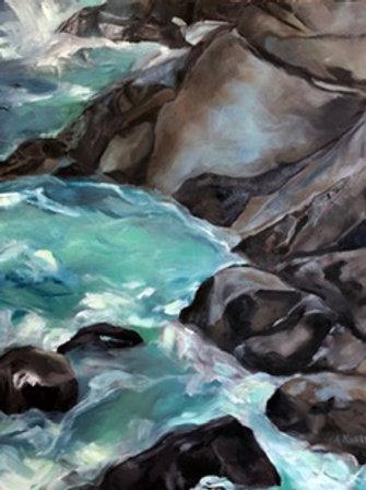 Rising Tide, Monhegan  by Amy Kustra