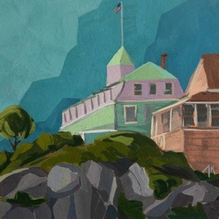Island Inn, Monhegan by Amy Kustra