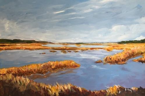 Autumn Marsh by Mark Farrow