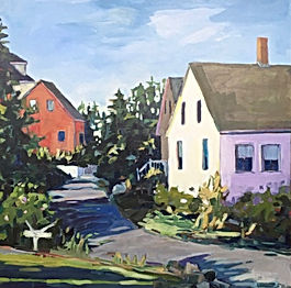 Jpope_Red House_acrylicon board_24x24_60
