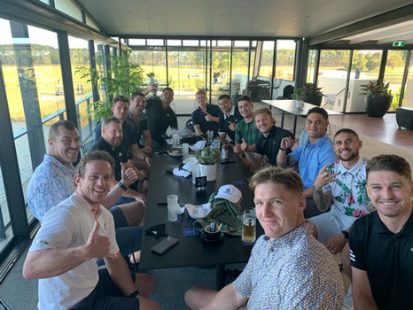 What do All Blacks do when they're not playing rugby?
