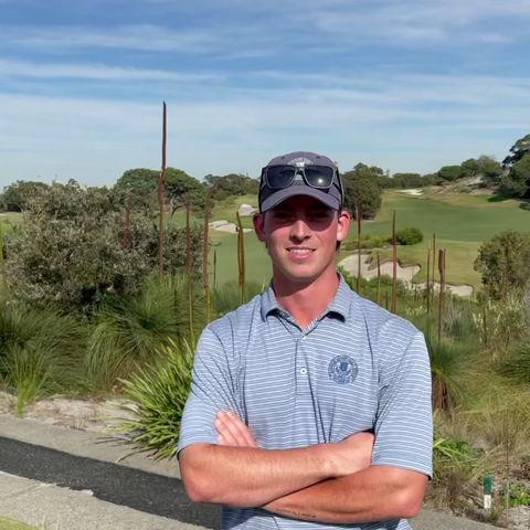 Joe Scally from Bonnie Doon Golf Club.