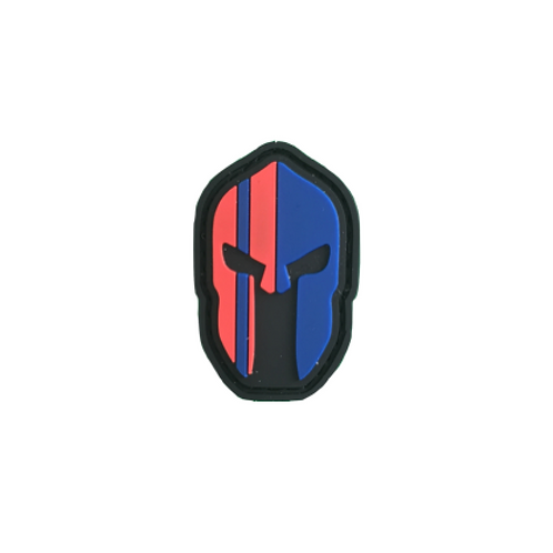 Badge Spartan - Blue & Red