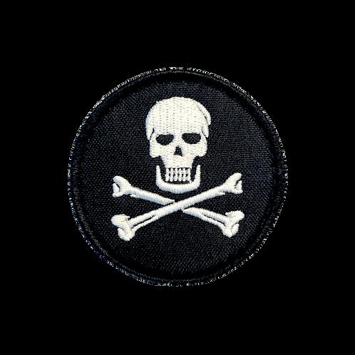 Badge SKULL - PVC