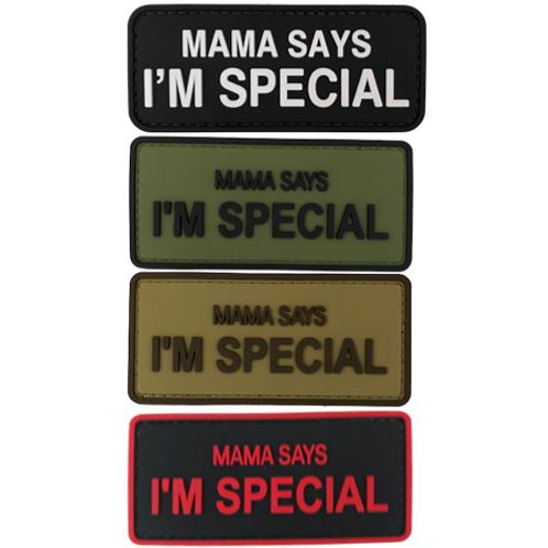 Badge MAMA SAYS - PVC