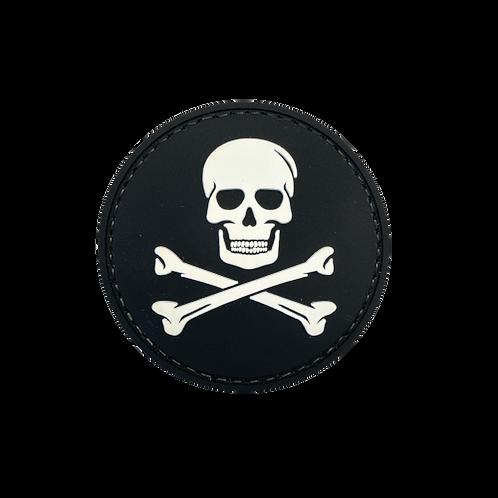 Badge SKULL - Tissu
