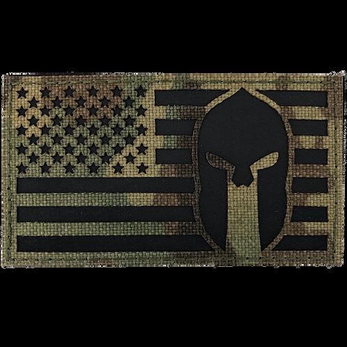 Badge USA SPARTAN IR