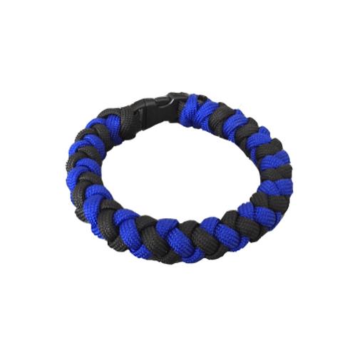 Bracelet paracord - Tressé bicolor