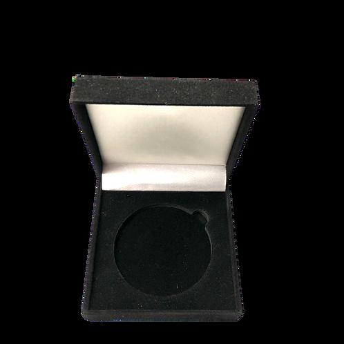 Boite en velours - Coin 7 cm