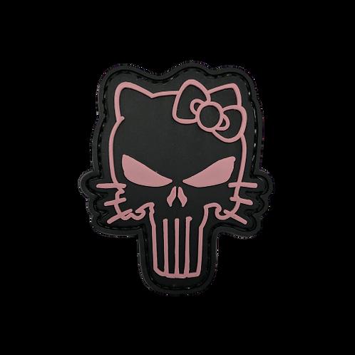 Badge PUNISHER HELLO KITTY