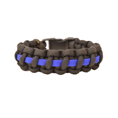 Bracelet paracord - Cobra avec ligne