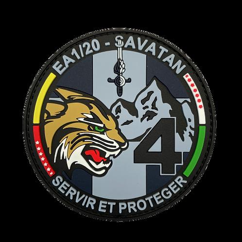 Badge EA 1-20-4 - Tactique