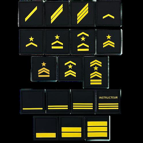 Badge GRADES - Jaune