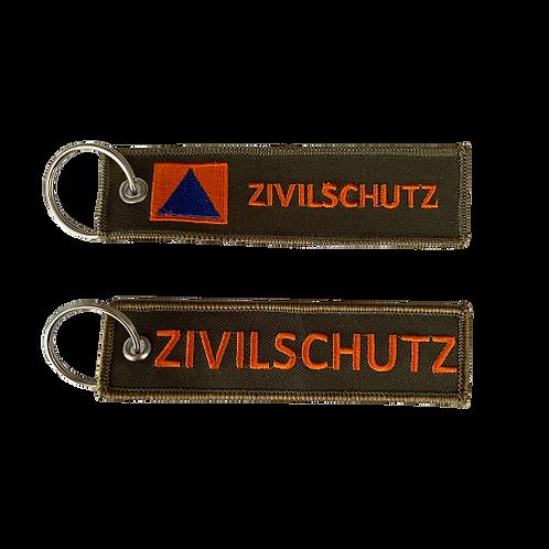 Porte-clés Tag ZIVILSCHUTZ