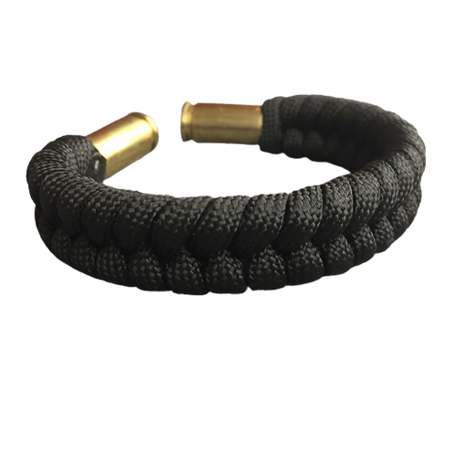 Bracelet paracord Fishtail - Black