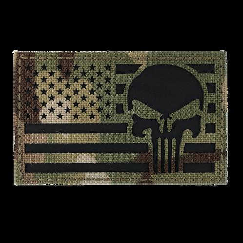 Badge USA PUNISHER IR