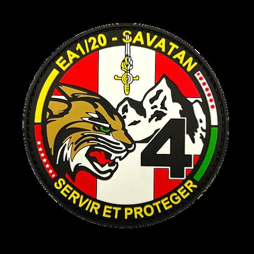 Badge EA 1-20-4 - Couleurs