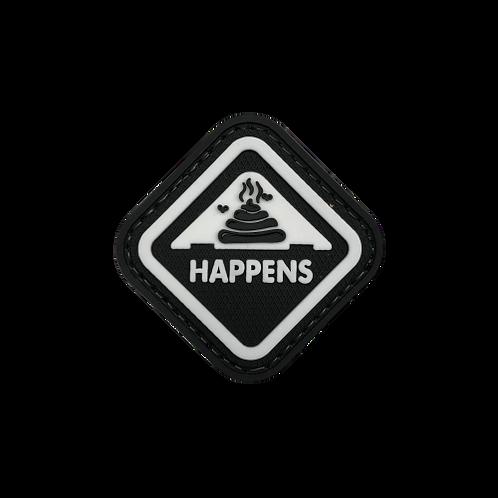 Badge SHIT HAPPENS