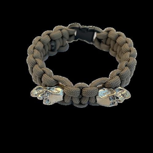 Bracelet paracord Cobra Tête de mort