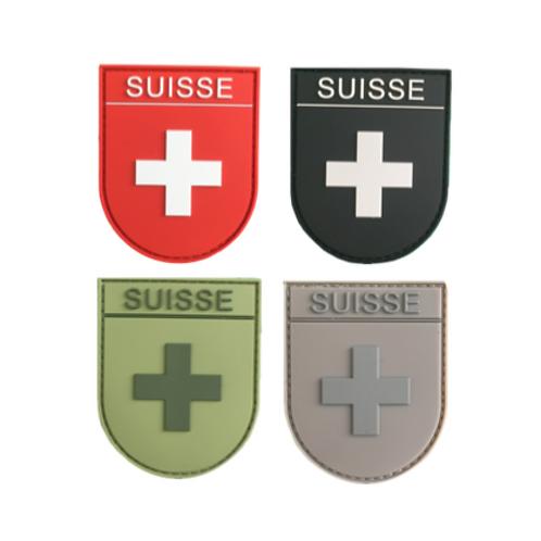 Badge SUISSE - Arrondi