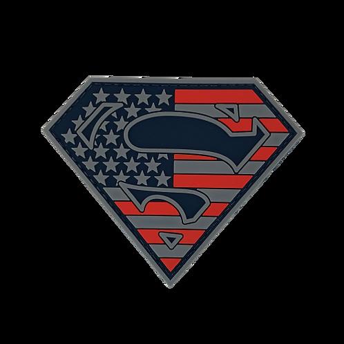 Badge SUPERMAN USA