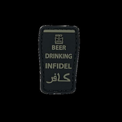 Badge BEER DRINKING INFIDEL