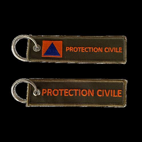 Porte-clés Tag PROTECTION CIVILE