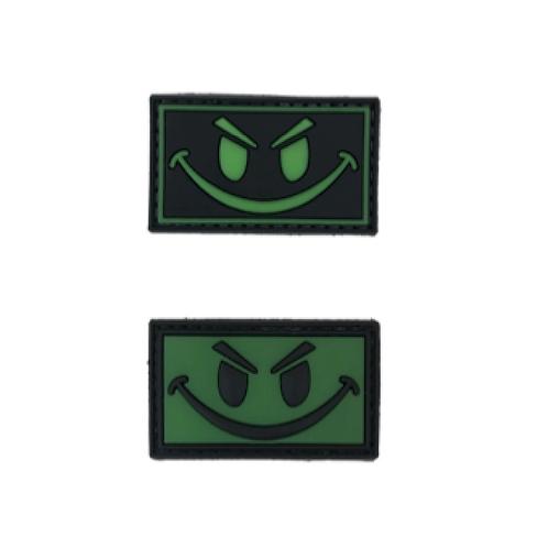 Badge SMILE - PVC 5.00 x 3.00 cm