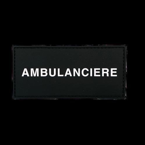 Badge AMBULANCIÈRE