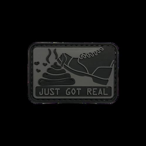 Badge JUST GOT REAL