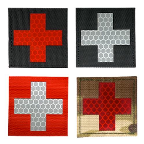 Badge MEDIC CROSS IR