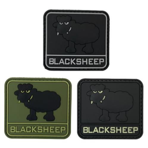 Badge BLACK SHEEP - 6.0 x 5.5 cm