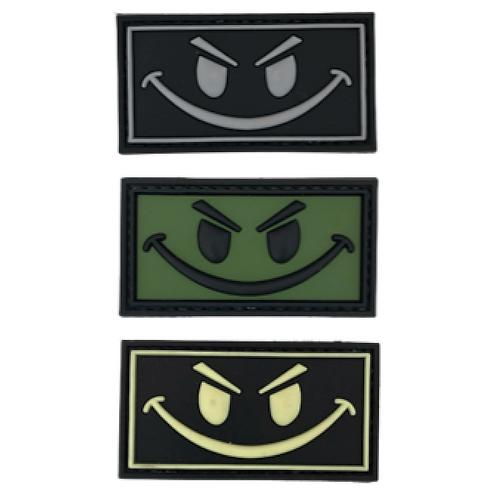 Badge SMILE - PVC 3.5 x 6.0 cm