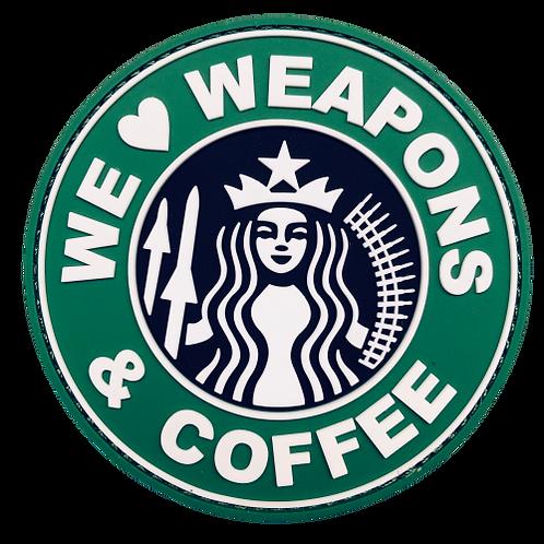 Badge WEAPONS & COFFEE