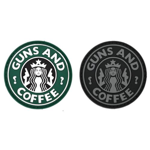 Badge GUN & COFFEE