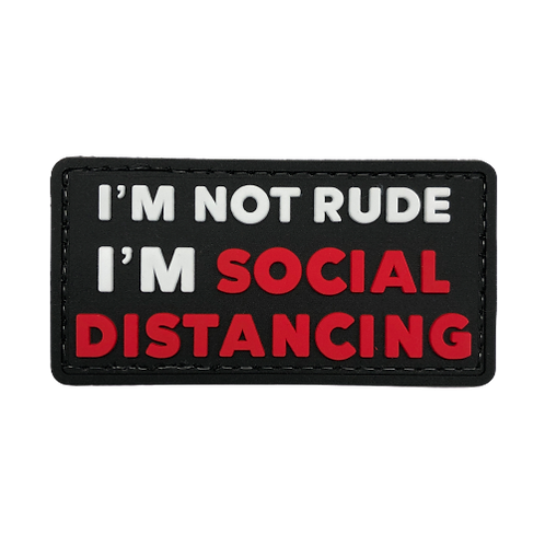 Badge SOCIAL DISTANCING