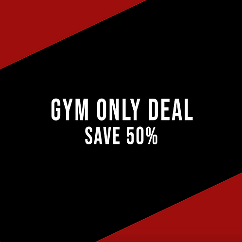 Gym Only Deal