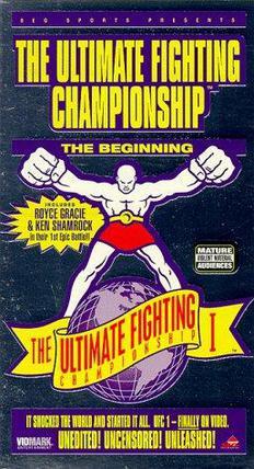 A UFC poster
