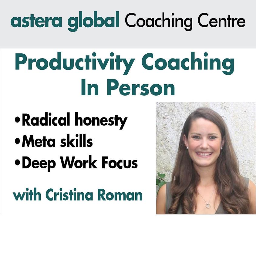 Productivity Hacks with Cristina