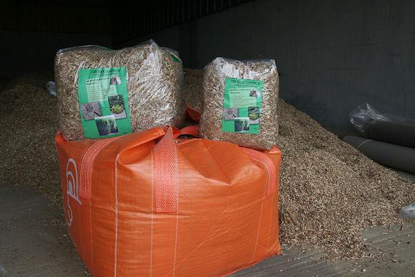 Biocanthus vous propose un large choix de conditionnement (petit sac, big bag, vrac) pour répondre à vos besoins : litière, paillage, fertilisant, chauffage