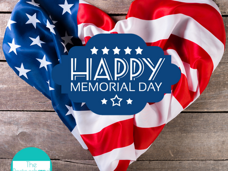 Happy Memorial Day and Updates