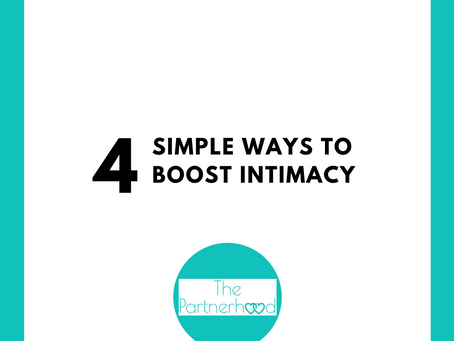 4 Simple Ways to Boost Intimacy - FREE GUIDE