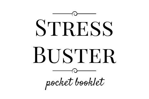 Stress Buster Pocket Booklet - Digital Download
