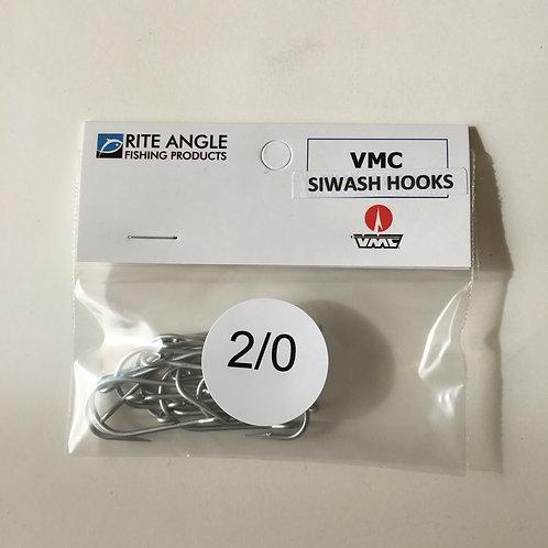 2/0 Siwash Hooks - Perma Steel- 10PK - #3002-2