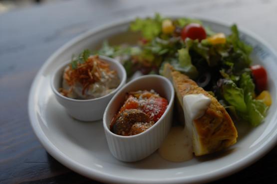 前菜の盛合せサラダ