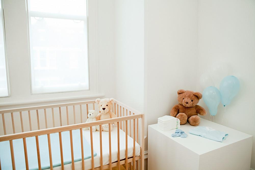 Un bébé zéro déchet, n'acheter que le matériel de puériculture nécessaire quand on en a besoin. Home Organising.