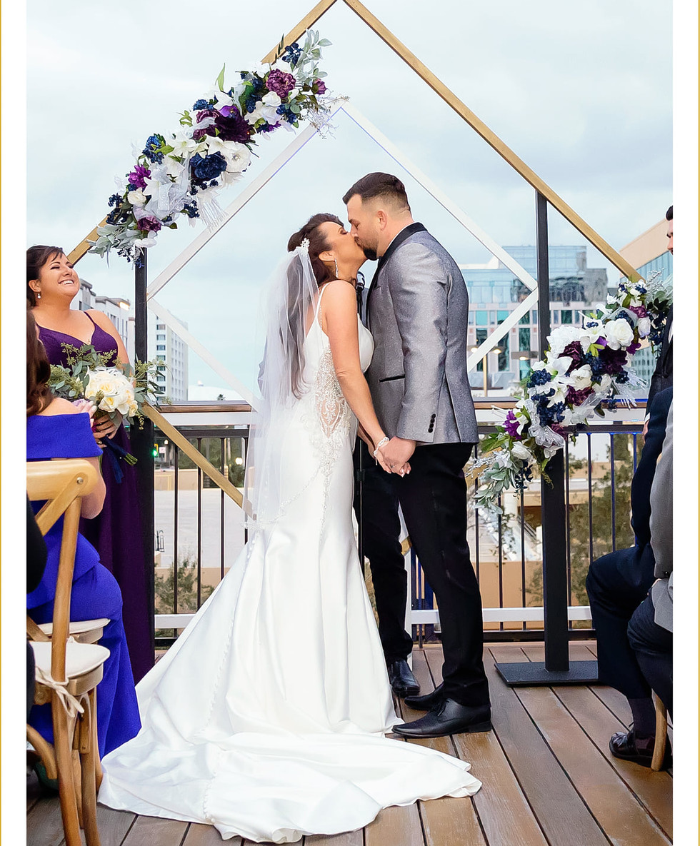 Roof Top Wedding-Red Mesa