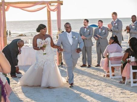 Sunset Wedding, Elegance and Tradition.