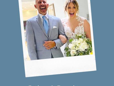 Summer Showers Blues Turned Into Wedding Blue Magic