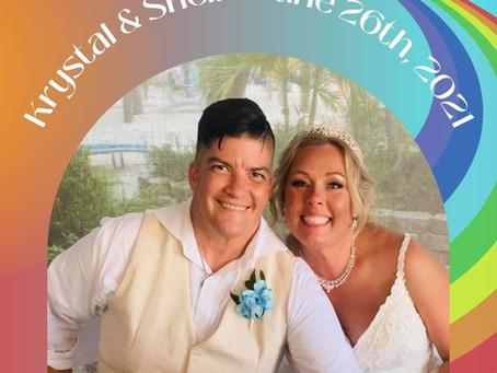 "June Weddings  ""From The  Beach To Intimate Rustic Backyard Weddings"""
